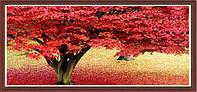 """Алмазная картина """"Красное дерево счастья"""" большая картина"""