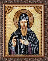 Набор для вышивки бисером именной иконы  «Святой Захария (Захар)»