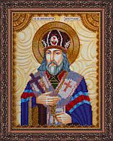 Набор для вышивки бисером именной иконы  «Святой Иннокентий»