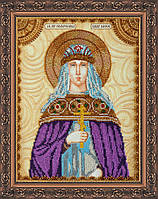Набор для вышивки бисером именной иконы  «Святая Евфросиния»