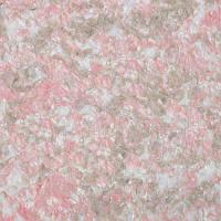 Жидкие обои № 205 белый, розовый и светло-коричневый