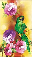 """Набор для рисования стразами """"Красивые цветы и птица"""""""