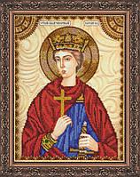 Набор для вышивки бисером именной иконы  «Святой Эдуард»