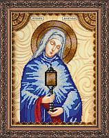 Набор для вышивки бисером именной иконы  «Святая Клара»