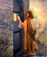 """Набор алмазной вышивки """"Иисус стучит в дверь Вашего сердца"""""""