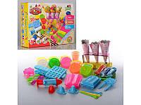 Игровой набор детский Пластилин с формами мороженое вафли MK 0186