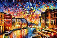 Картина по номерам Ночная Венеция худ. Афремов, Леонид