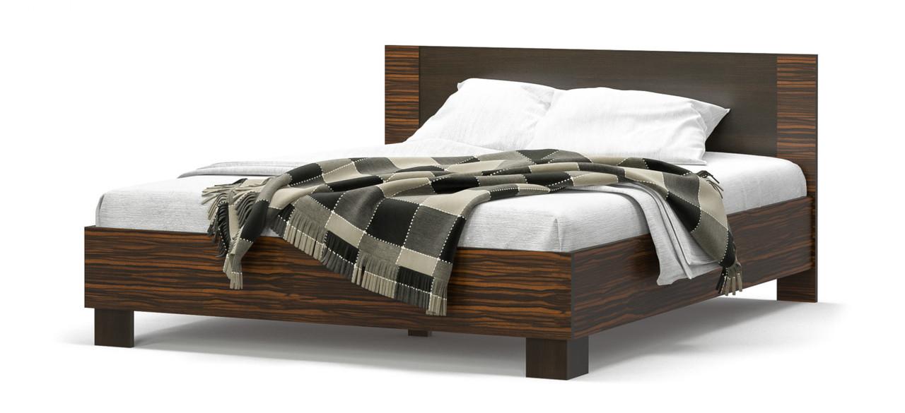 Вероника двуспальная кровать-160 Мебель-Сервис 2036х1664х852 мм