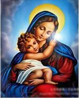 """Набор алмазной вышивки """"Дева Мария и Иисус"""""""