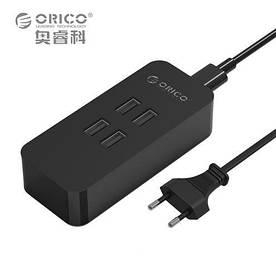 ORICO  DVC-4U 5V 4А реально, зарядка 4-х USB КАЧЕСТВО