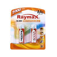 Аккумуляторы Raymax HR6 AA 1000 mAh 1,2 V Ni-MH