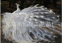 """Алмазная вышивка """"Белый павлин"""" (набор для творчества)"""