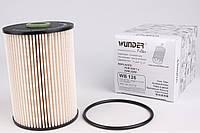 Паливний фільтр (колба № 1K0127400K) VW Caddy III 1.6TDI / 1.9TDI / 2.0SDI 04- WB-126 WUNDER (Туреччина)