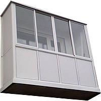 Пластиковый балкон или лоджия
