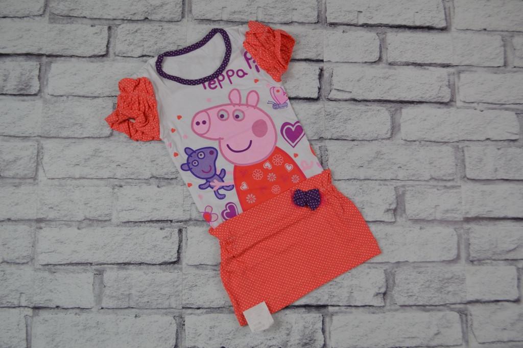 """Платье """"Свинка Пеппа с мишкой"""""""