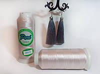 Нитки для машинной вышивки Peri, полиэстер 120D/2, 3000 ярдов, цвет 3002 пудра