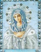 """Набор алмазной вышивки Икона Святая Мария """"Умиление"""""""