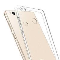 Силиконовый прозрачный чехол для Xiaomi Mi4s
