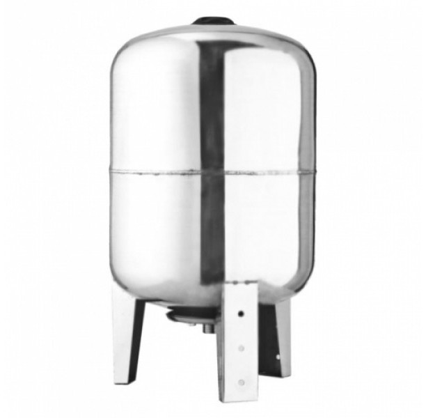 Гидроаккумулятор (бак для воды) нержавеющая сталь Euroaqua VT080L SS объемом 80 литров