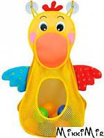 Голодный пеликан с шариками, K's Kids, Желтый