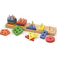 Сортер Viga toys Геометрические фигуры (58558)