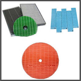 Фильтры для очистителей воздуха Daikin, Sharp, Panasonic.