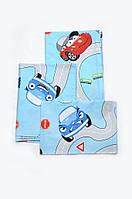 Комплект постельного белья в кроватку для новорожденных (мальчик) Модный Карапуз 03-00485-2