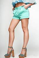 Шорты летние Классика 006 (4 цвета), женские летние шорты, шорты коттон Размеры 42- 48