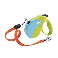 Ferplast CORD AMIGO COLOURS Поводок-рулетка для собак cо шнуром. 3 размера, 2 цвета.