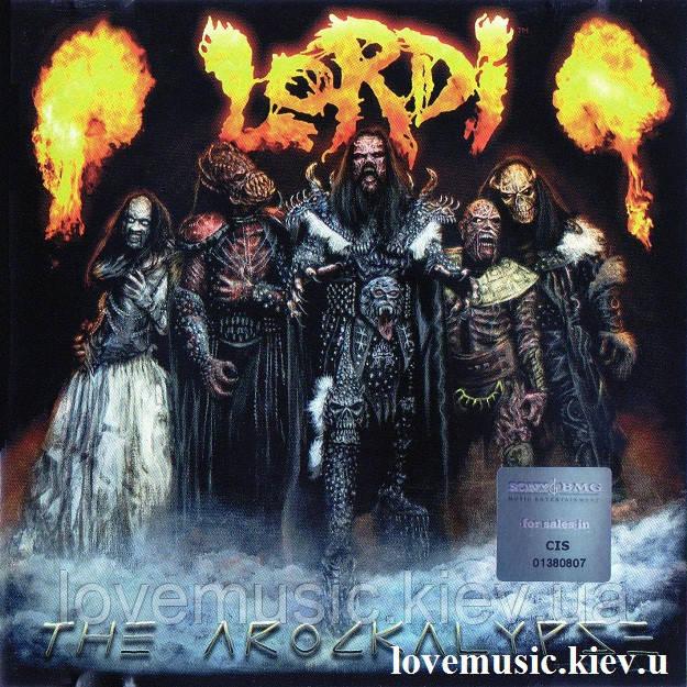 Музичний сд диск LORDI The arockalypse (2006) (audio cd)