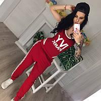 Женский трикотажный комплект боди+штаны   +цвета