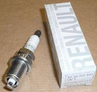 Свеча зажигания Renault Logan (производство RENAULT)