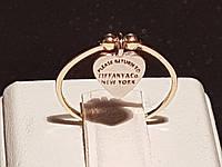Золотое кольцо Tiffany