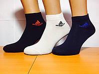 Носки спортивные укороченные 200 иголок  «Adidas» 41-45р.