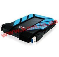 """Внешний жесткий диск A-DATA HD710 1Tb 2.5""""USB3.0 сине-черный (AHD710-1TU3-CBL)"""