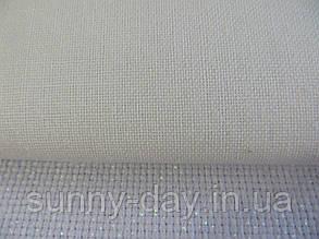 Тканина для вишивки 28 каунт, біла 50*50см