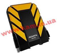 """HDD External 1Tb A-Data HD710, Yellow, 2.5"""", 5400rpm, 8Mb, USB 3.0, AHD710-1TU3-CY (AHD710-1TU3-CYL)"""