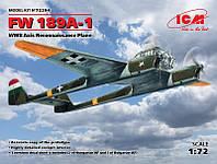 1:72 Сборная модель самолета Fw 189A-1, ICM 72294