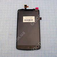 Дисплей Lenovo S920 с сенсором черный