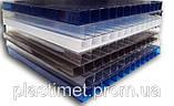 Стільниковий полікарбонат POLICAM прозорий 4мм 2,1*6м, фото 3