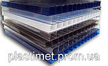 Стільниковий полікарбонат POLICAM прозорий 16мм 2,1*6м, фото 3