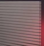 Стільниковий полікарбонат POLICAM прозорий 16мм 2,1*6м, фото 5