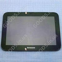 Дисплей Lenovo A2109 с сенсором и рамкой черный