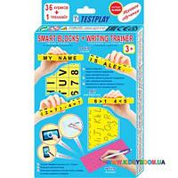 Умные кубики + тренажер для письма (Английский) Тестплей T-0220