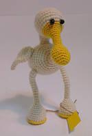 Детская Игрушка Пеликан вязаный крючком