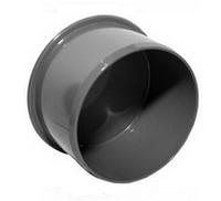 Заглушка ПВХ Wavin для внутренней канализации серая 110