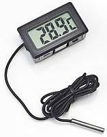 Цифровой термометр TPM-10 (-50...+110 °C) с выносным датчиком (длина - 1 м)