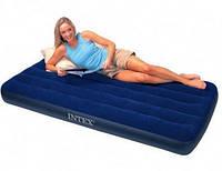 Односпальный надувной матрас Intex 68757 (99см х 191см х 22см)