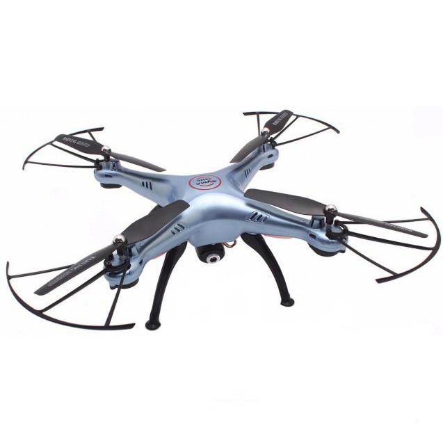 Квадрокоптер Syma X5HC c HD камерой RTF X5HC blue