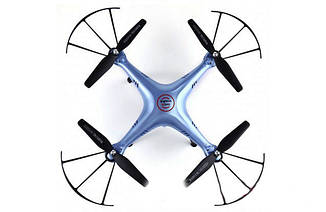 Квадрокоптер Syma X5HC c HD камерой RTF X5HC blue, фото 2